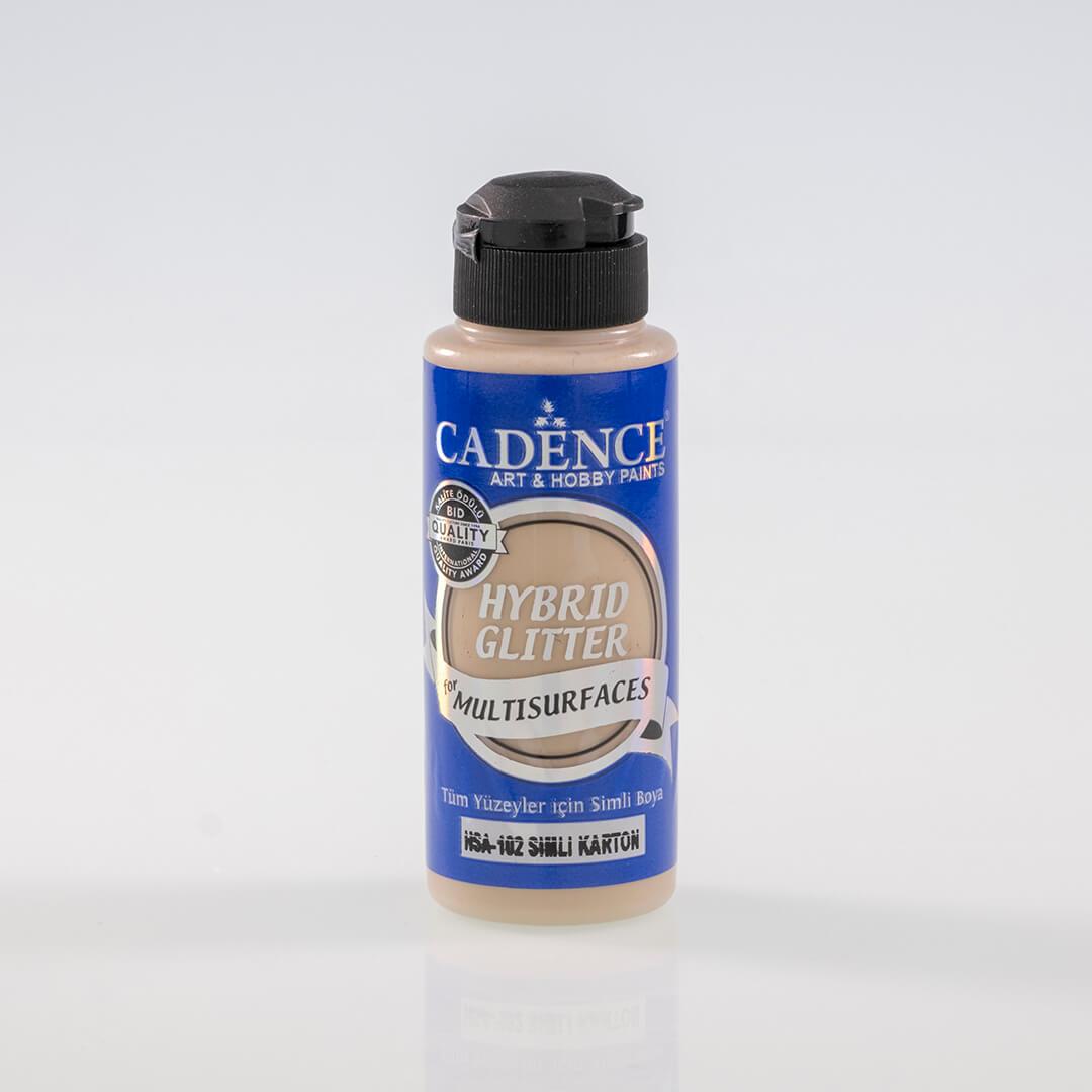 Karton Cadence Multisurface Altın Simli Akrilik Boya HSA102 - 120 ML