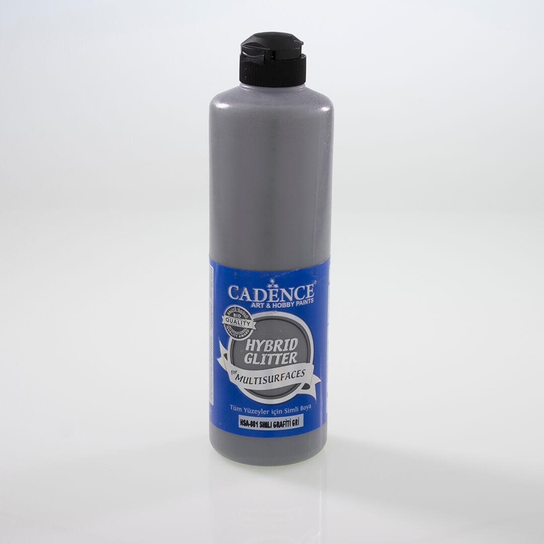 Grafiti Gri Cadence Multisurface Altın Simli Akrilik Boya HSA081 - 500 ML