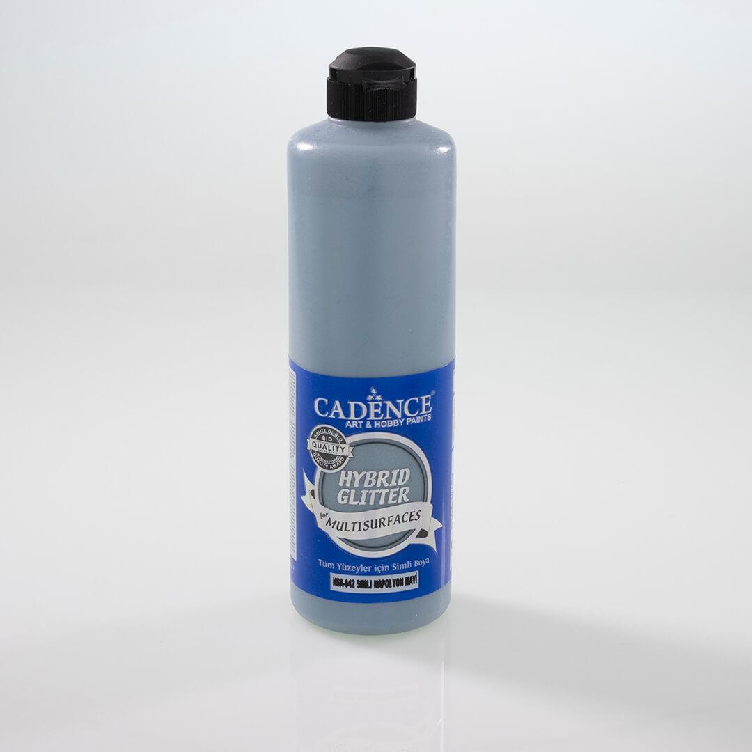 Napolyon Mavi Cadence Multisurface Altın Simli Akrilik Boya HSA042 - 500 ML