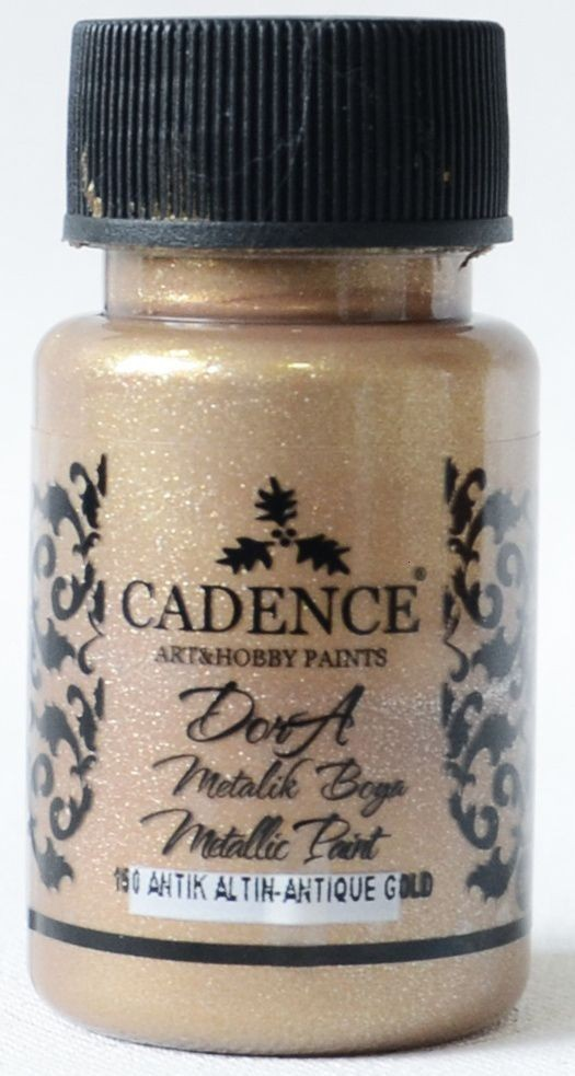 Antik Altın Cadence Dora Metalik Boya 50ML(cc) 150 fiyatları