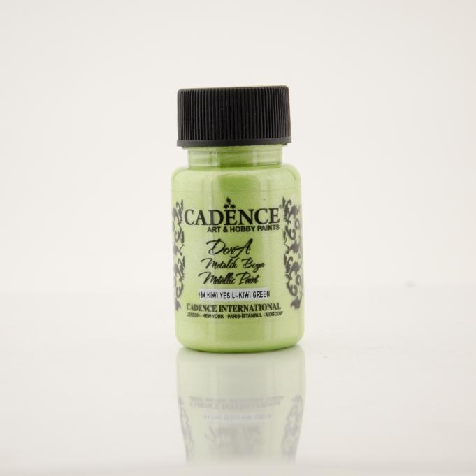 Kivi Yeşil Rengi Dora Metalik Boya 50 ml (cc) -194