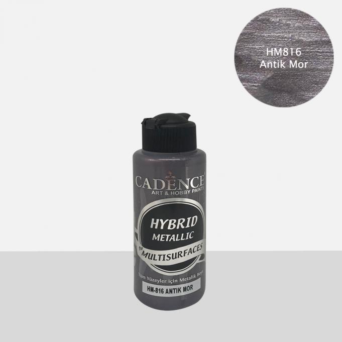 Antik Mor Cadence Metalik Multisurface Akrilik Boya 120ML ve 500ML H816