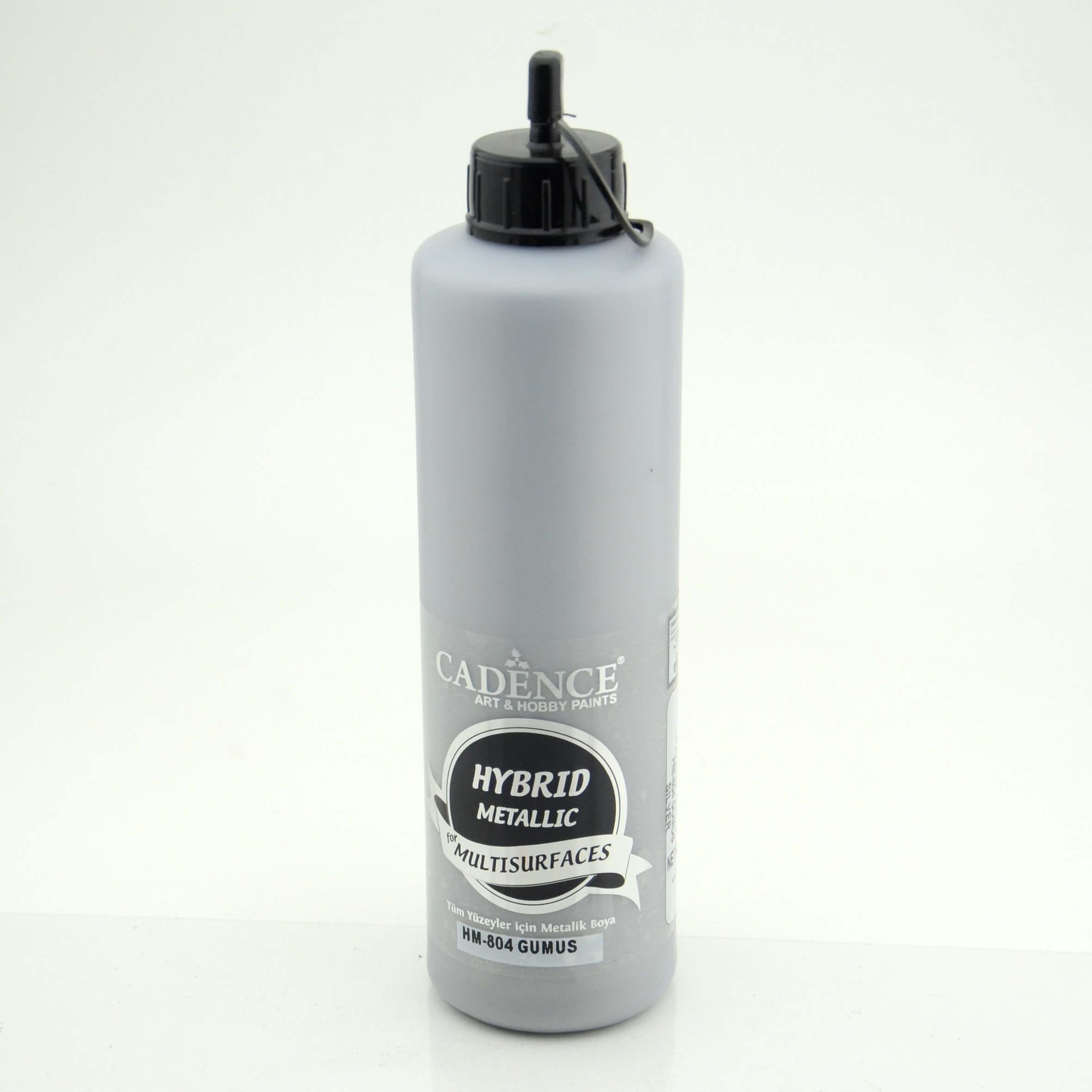 Gümüş Cadence Metalik  Multisurface Akrilik Boya 500ML H804