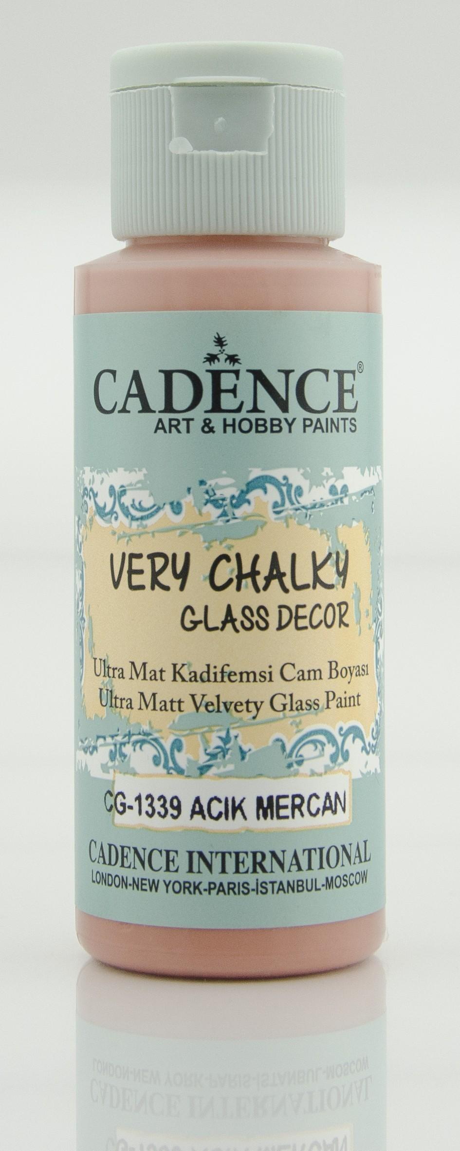 CG1339 Açık Mercan Very Chalky Cam Boyası