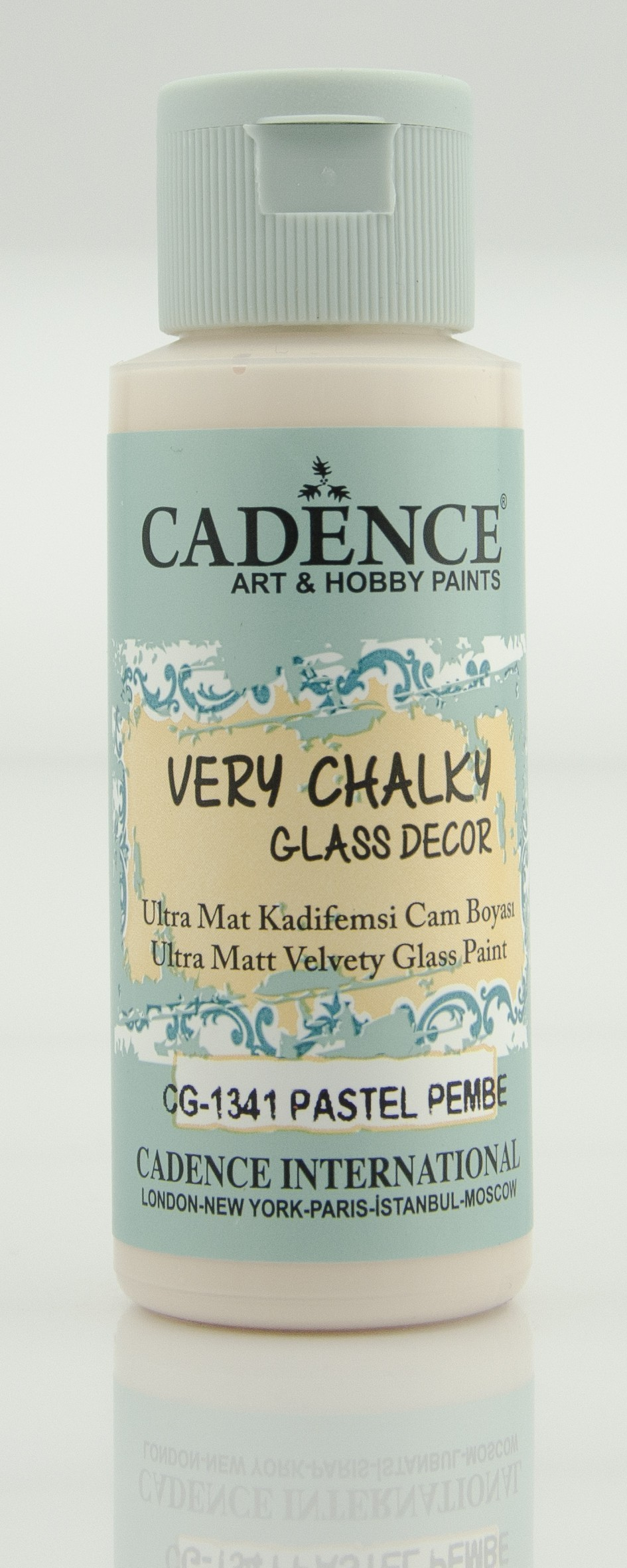CG1341 Pastel Pembe Very Chalky Cam Boyası