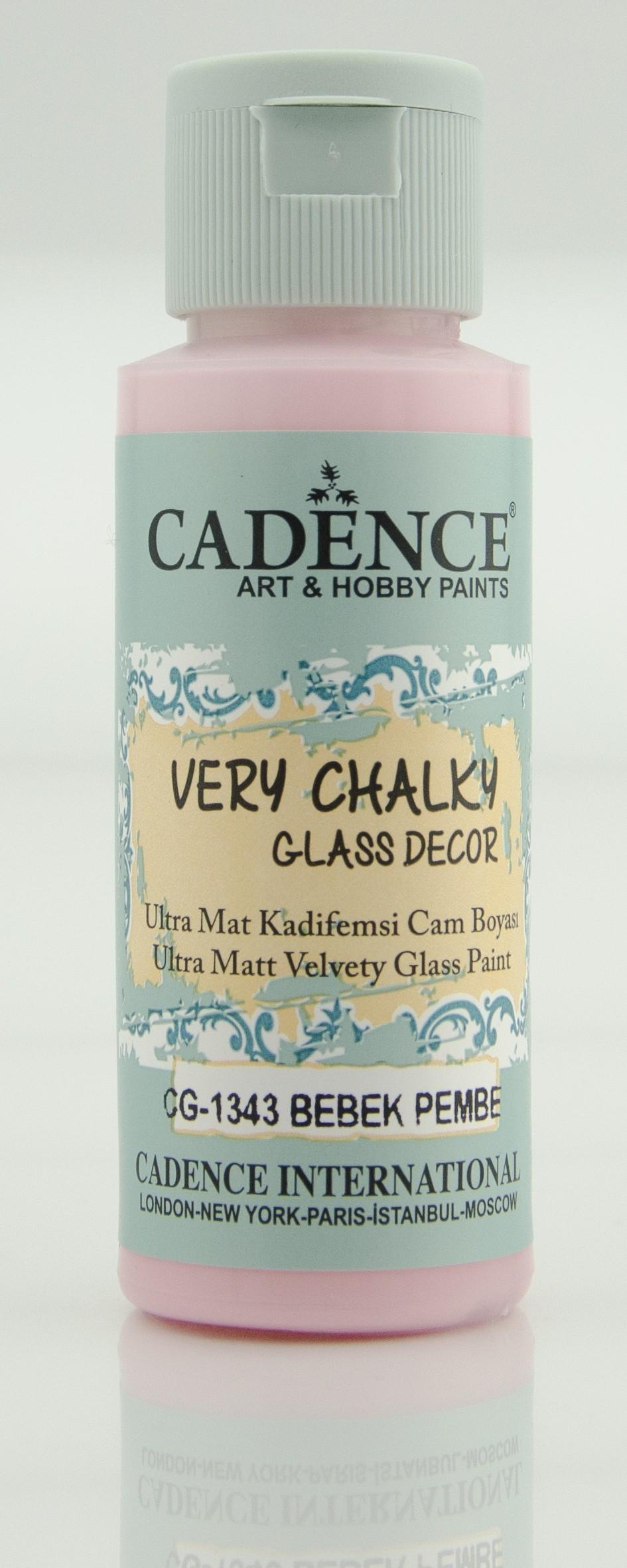 CG1343 Bebek Pembe Very Chalky Cam Boyası