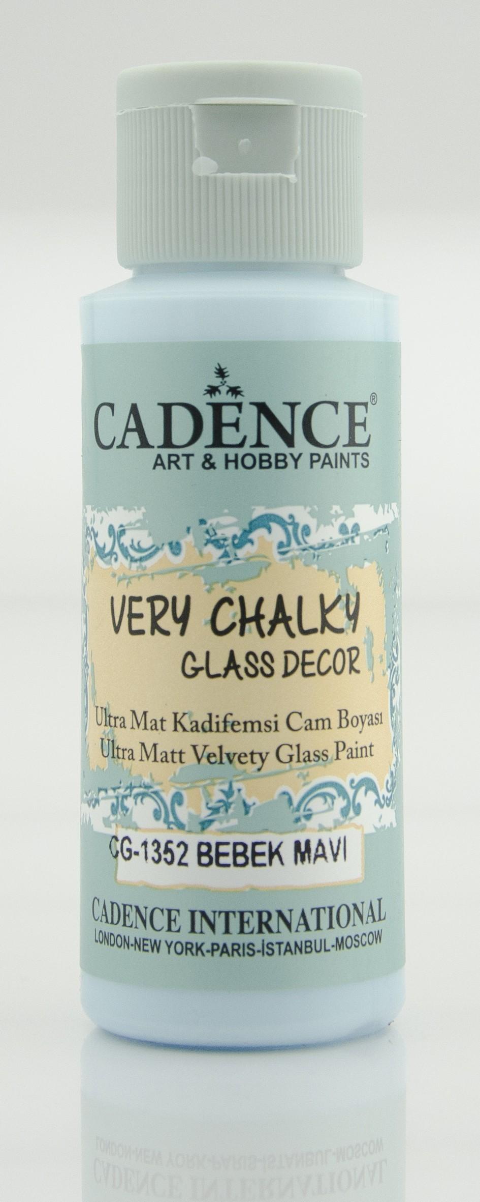 CG1352 Bebek Mavi Very Chalky Cam Boyası