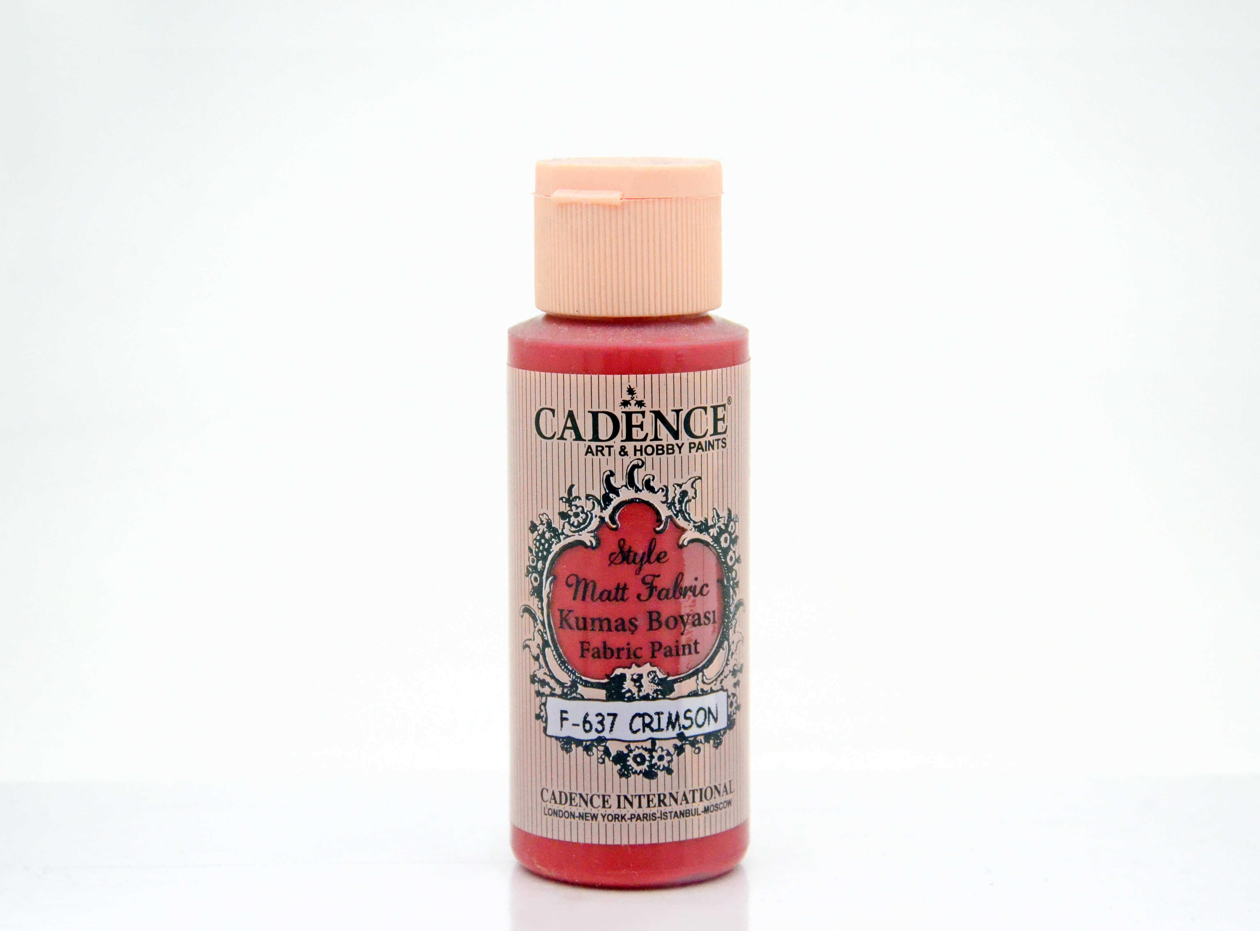 637 Crimson Kumaş Boyası 59ML(cc)