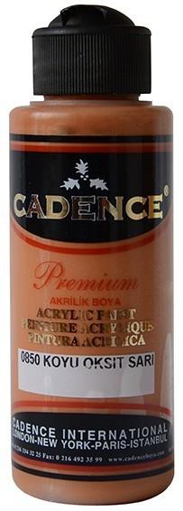 Cadence Akrilik Boya 120ML(cc) 0850 Koyu Oksit Sarı
