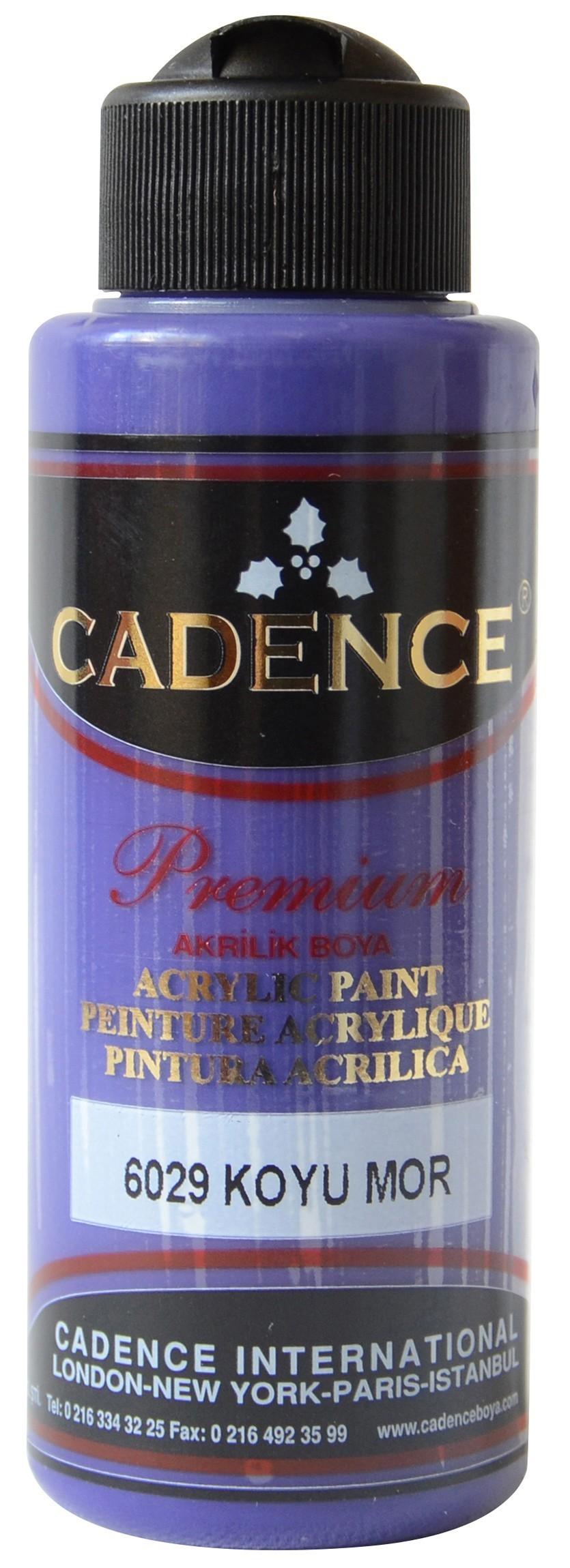 Cadence Akrilik Boya 120ML(cc) 6029 Koyu Mor