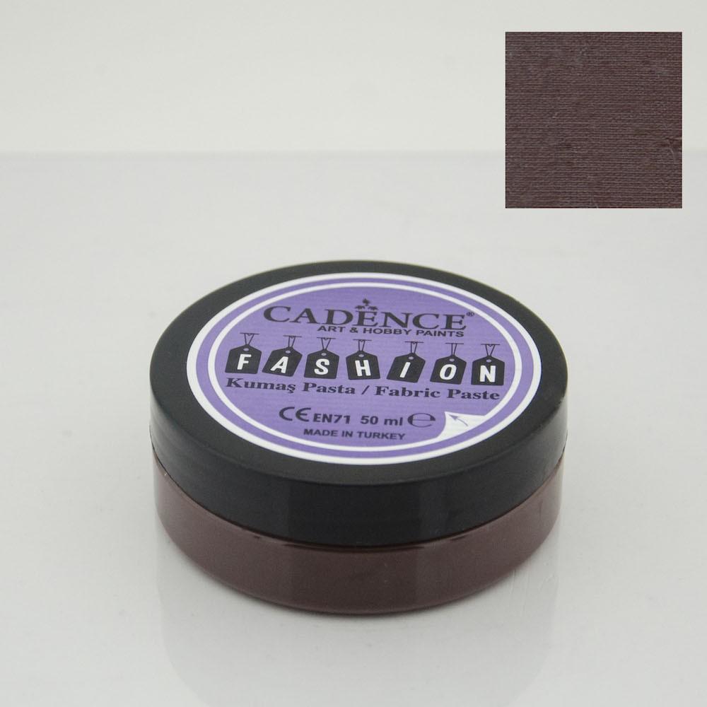 Kahverengi Cadence Opak Kumaş Rölyef Pasta 11