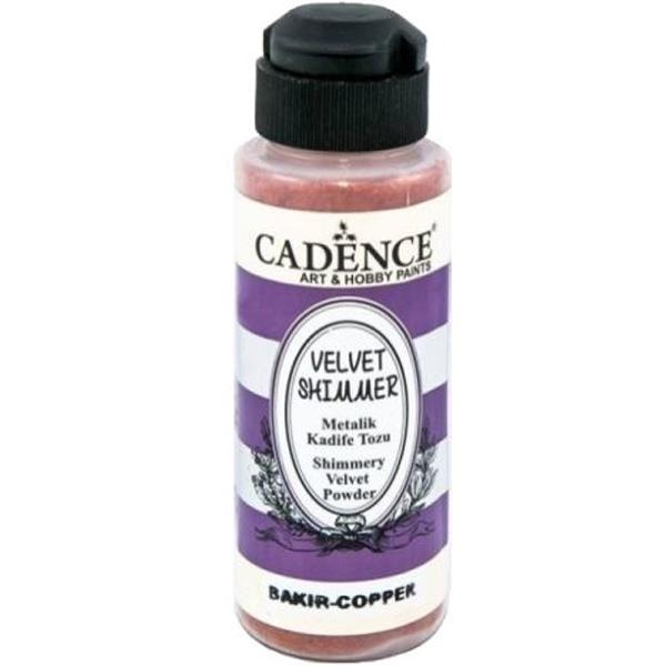Cadence Metalik Kadife Tozu Bakır VS-03