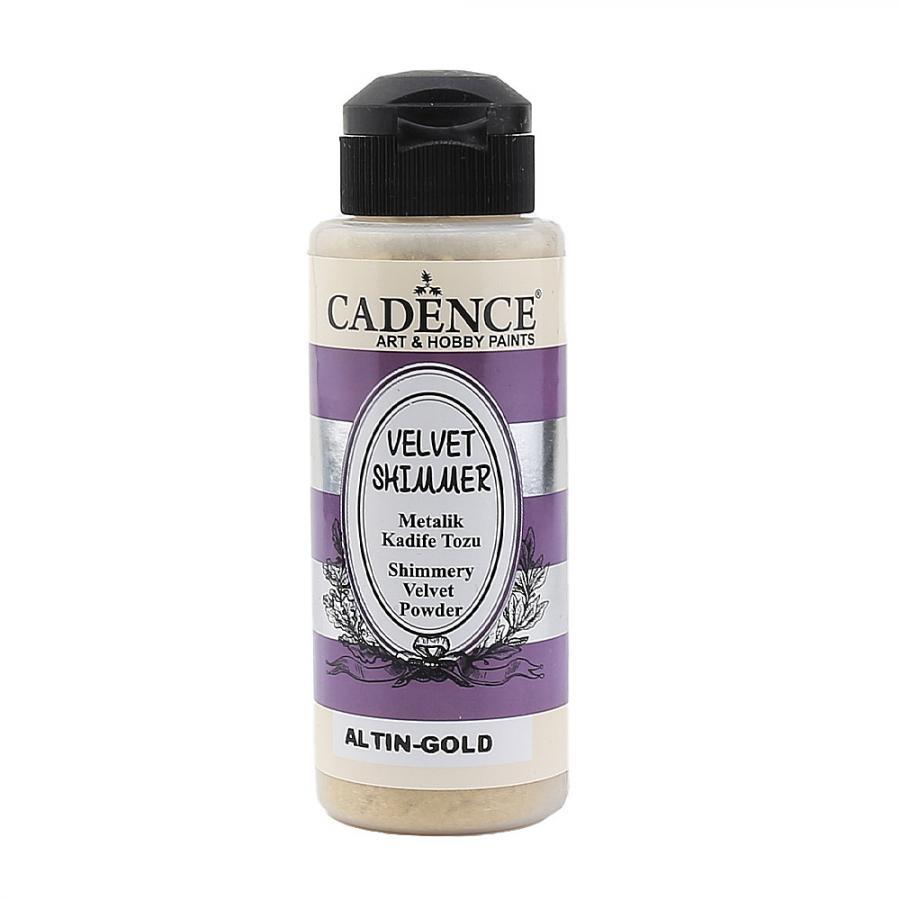 Cadence Metalik Kadife Tozu Altın VS-02