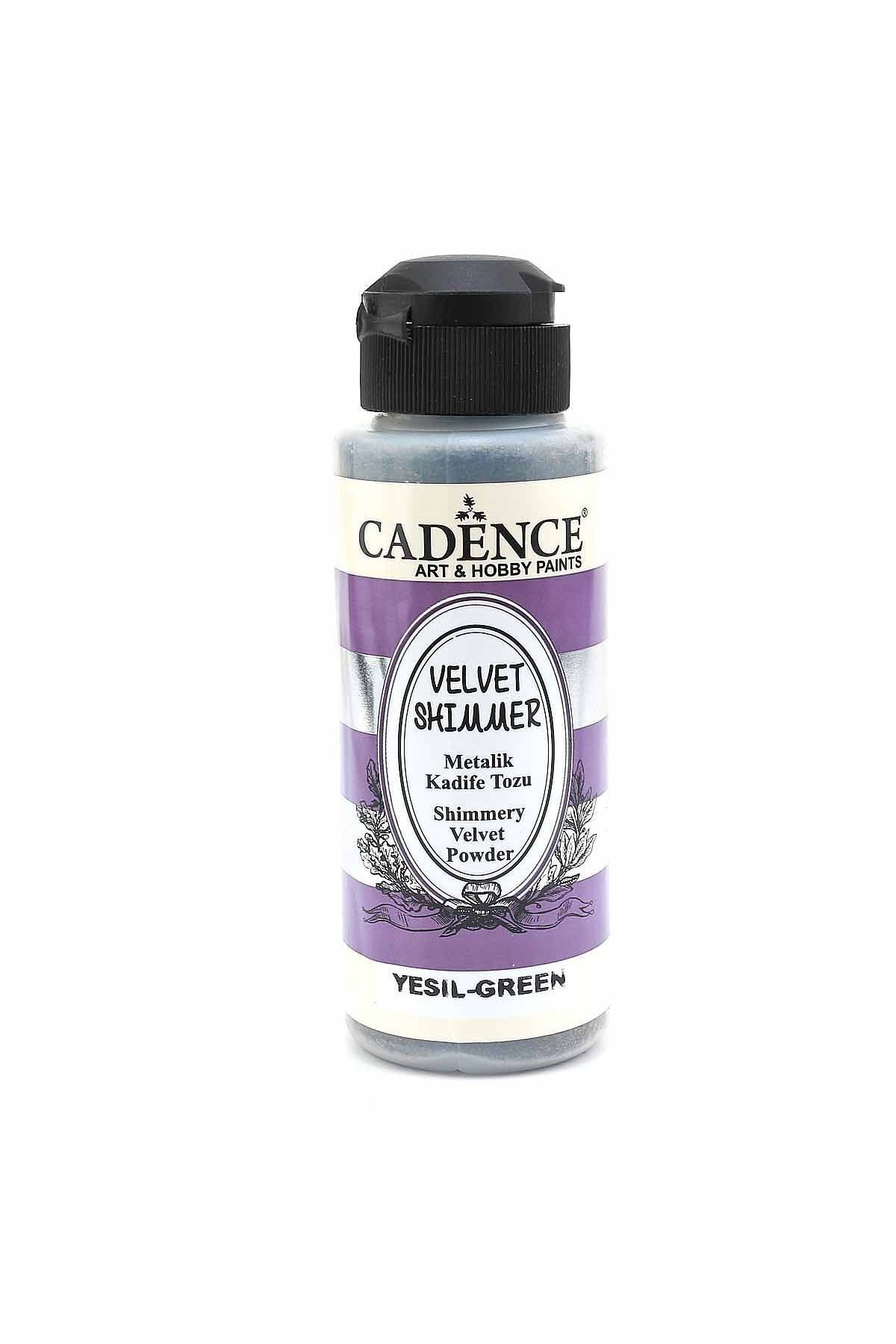 Cadence Metalik Kadife Tozu Yeşil VS-04