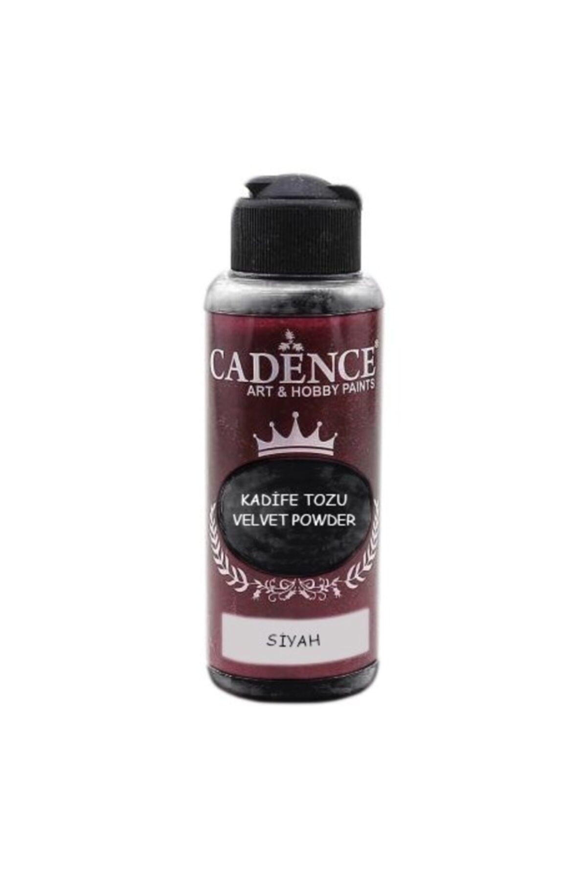 Cadence Kadife Tozu Siyah