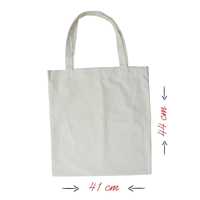 Ham Bez Beyaz Çanta 35x26