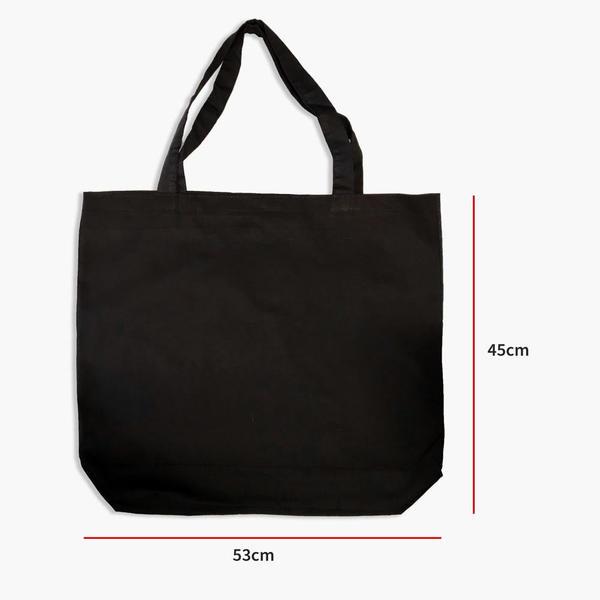 Ham Bez Siyah  Çanta 53x45