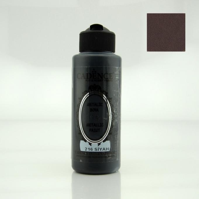 Siyah Rengi Cadence Metalik Boya 120ML (216)