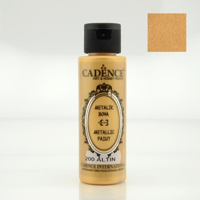 Altın Rengi Cadence Metalik Boya 70ML (200)