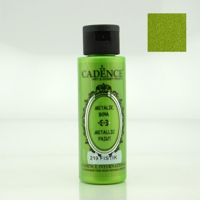 Fıstık Yeşili Rengi Cadence Metalik Boya 70ML (219)