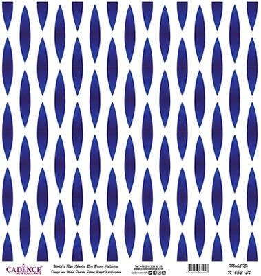 Elips Desen Cadence Pirinç Dekopaj  - K033
