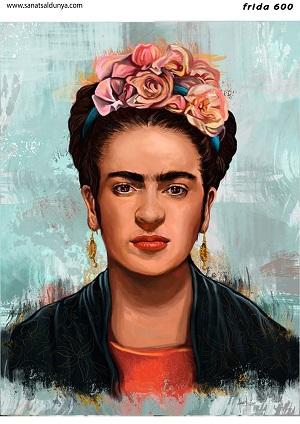 SD Pirinç Dekopaj Frida Kahlo - SDP600