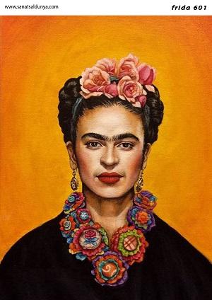 SD Pirinç Dekopaj Frida Kahlo - SDP601