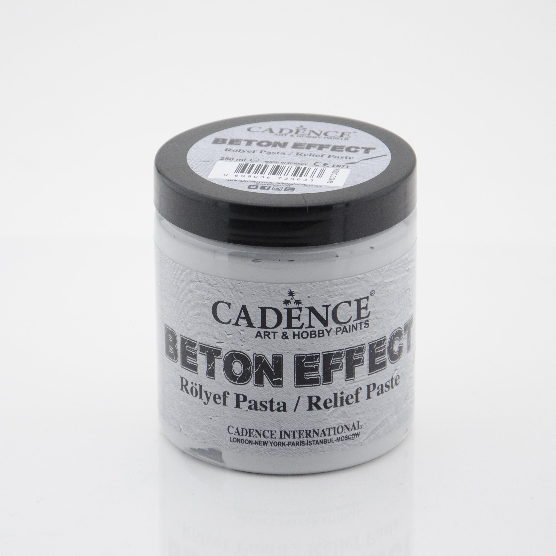 Cadence Beton Efekt 250 ML - Rölyef Pasta