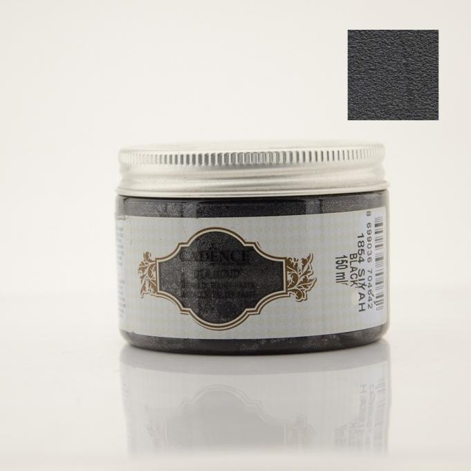 Cadence 1854 Siyah Diamond Rölyef Pasta | Sanatsal Dünya