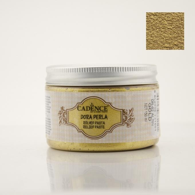 DR02 Altın Dora Perla Rölyef Pasta