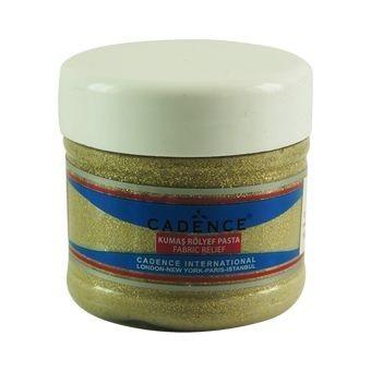 Altın - Simli Kumaş Rölyef Pasta