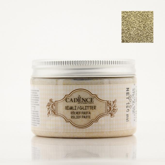 5798 Altın - Simli Rölyef Pasta