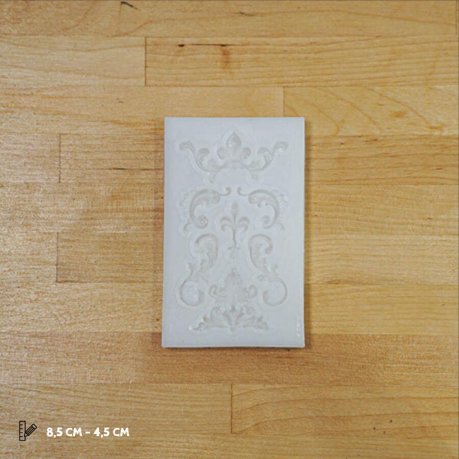 Klasik Desenler Silikon Kalıp - SA09 (8,5X4,5CM)