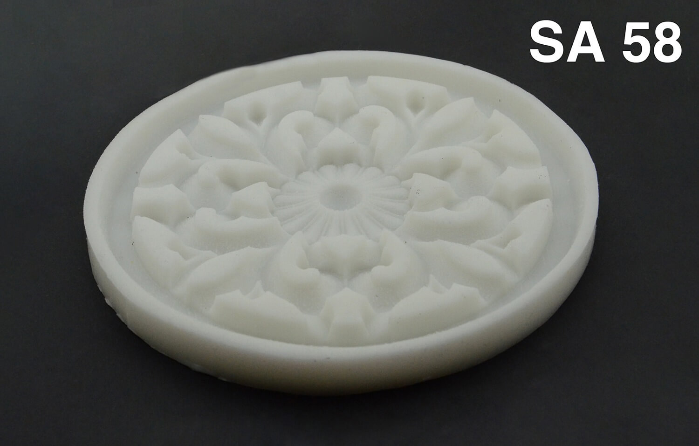 Süsen Desen Silikon Kalıp - SA58 (15x15)