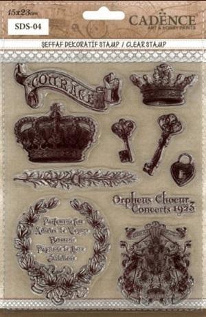 SDS04 Silikon Stamp - mühür-