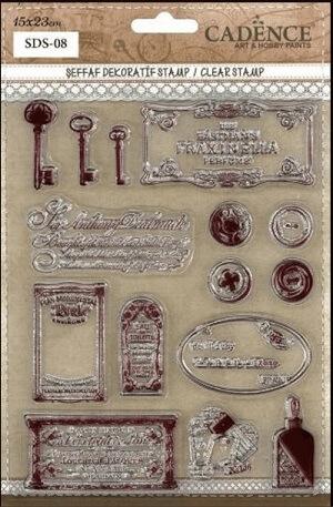 SDS08 Silikon Stamp