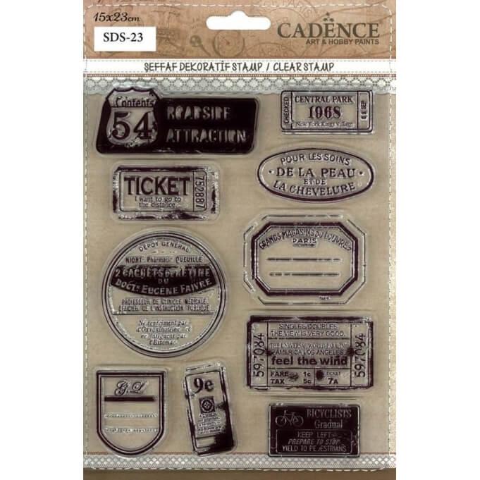 SDS23 Silikon Stamp