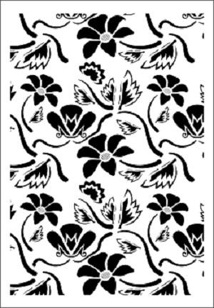 Cadence Çiçek Stencil FCS-04 (21x30)