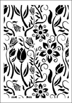 Cadence Çiçek Stencil FCS-05 (21x30)