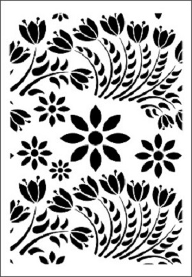 Cadence Çiçek Stencil FCS-06 (21x30)