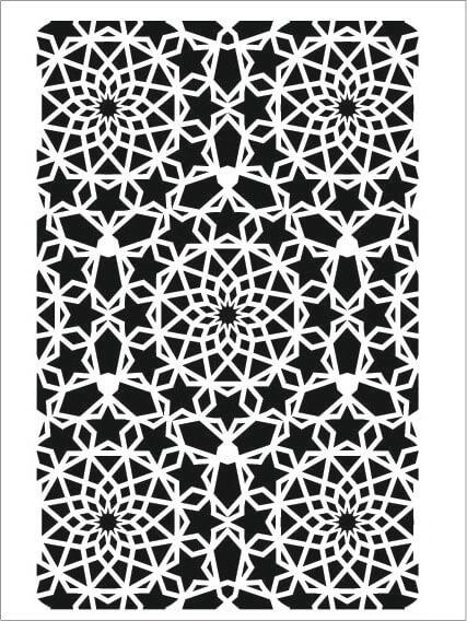 Cadence Arkaplan Stencil NBS-01 (15x20)
