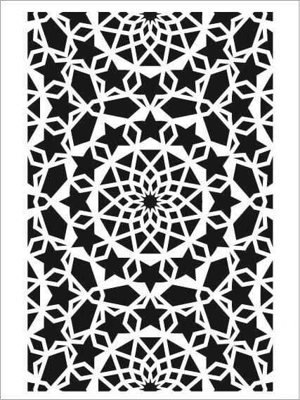 Cadence Arkaplan Stencil NBS-03 (15x20)