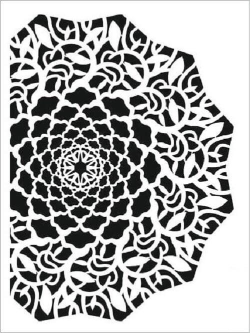 Cadence Arkaplan Stencil NBS-05 (15x20)