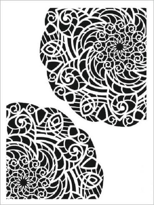 Cadence Arkaplan Stencil NBS-06 (15x20)