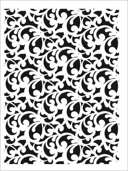 Cadence Arkaplan Stencil NBS-08 (15x20)
