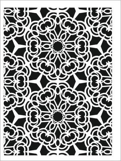 Cadence Arkaplan Stencil NBS-09 (15x20)