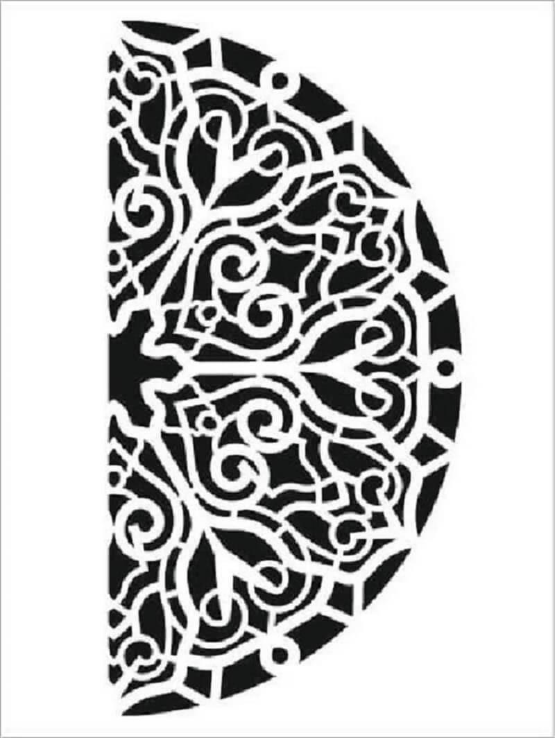 Cadence Arkaplan Stencil NBS-11 (15x20)