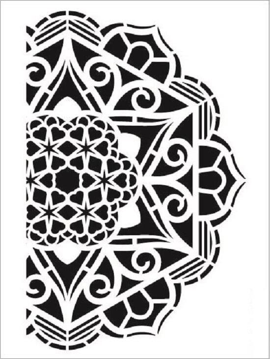 Cadence Arkaplan Stencil NBS-12 (15x20)