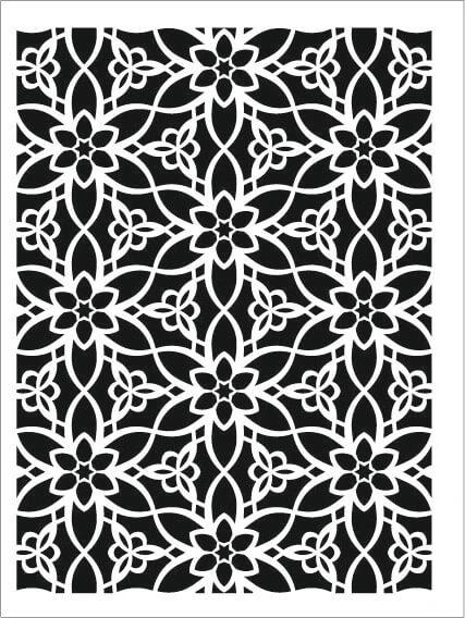 Cadence Arkaplan Stencil NBS-13 (15x20)