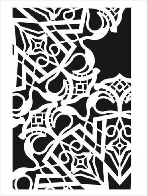 Cadence Arkaplan Stencil NBS-14 (15x20)